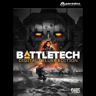 Battletech Deluxe Edition PC STEAM CD KEY