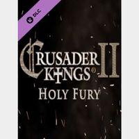 Crusader Kings II: Holy Fury Steam Key GLOBAL