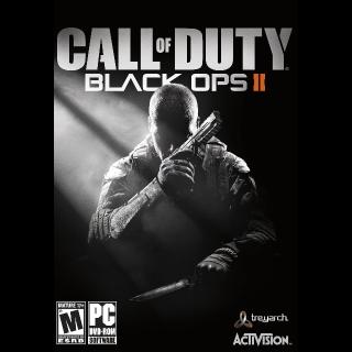 Call of Duty Black Ops II Steam Key Global