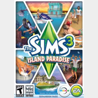 The Sims 3 Island Paradise Origin Key