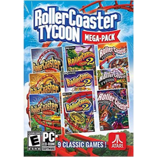 RollerCoaster Tycoon Megapack (9 games) Steam Key