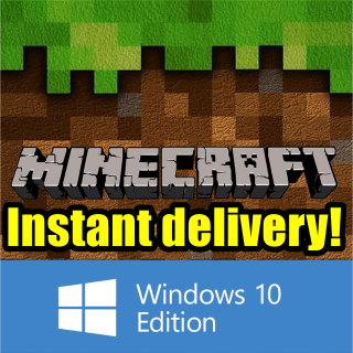Minecraft: Windows 10 Edition CD-KEY [InstantDelivery\RegionFree]