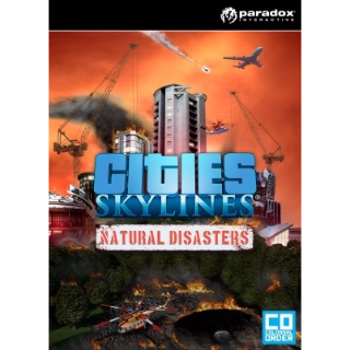Cities: Skylines - Natural Disasters Steam CD Key