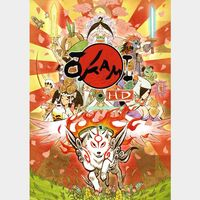 OKAMI HD / 大神 絶景版 Steam Key Global
