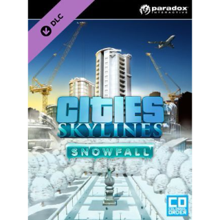 Cities: Skylines Snowfall Steam Key GLOBAL