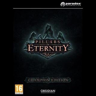 Pillars of Eternity Champion Edition Steam Key