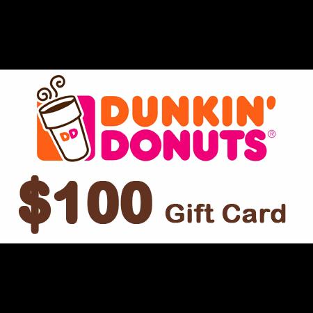 Dunkin donuts egift card