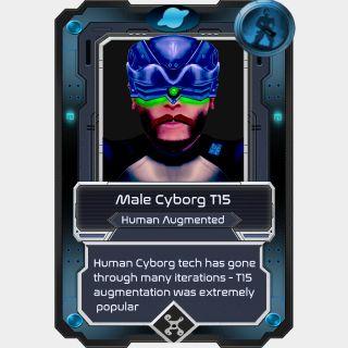 Male Cyborg T15
