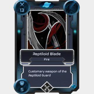 Reptiloid Blade