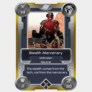 Stealth Mercenary