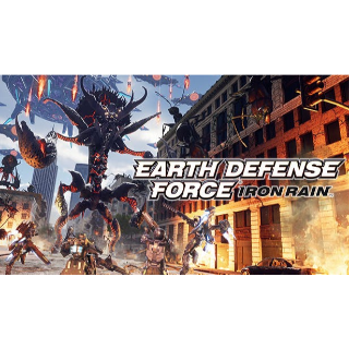 EARTH DEFENSE FORCE: IRON RAIN STEAM CD KEY GLOBAL ( instant delivery )