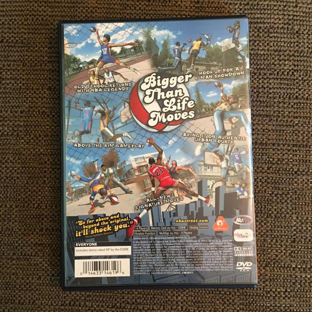 NBA Street Vol 2 - PS2 Games (Good) - Gameflip