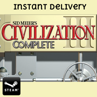 Civilization III: Complete - INSTANT Delivery - Steam Key
