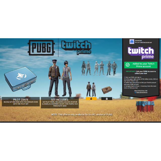 PUBG | pilot set crate - PlayerUnknown's Battlegrounds In