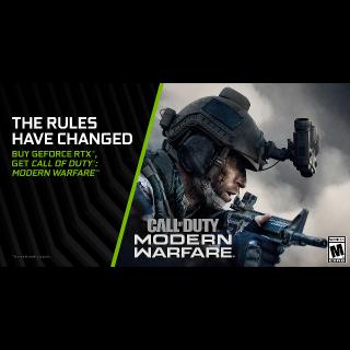 Call of Duty : Modern Warfare | NVIDIA KEY