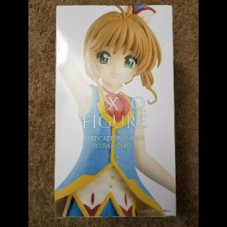 New Card Captor Sakura Clear Card EXQ Figure Banpresto