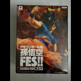 Banpresto Dragon Ball Super Figure ULTRA INSTINCT SIGN SON GOKU FES Vol.10
