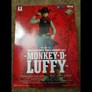 Banpresto One Piece Treasure Cruise World Journey Figure Monkey D. Luffy