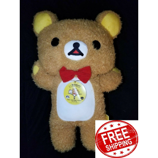 Rilakkuma 15TH Anniversary Bear Soft Plush Plushy Big Japan San-X New NWT