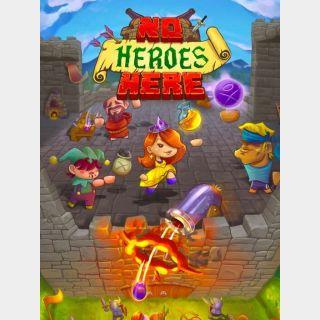 No Heroes Here Steam Key