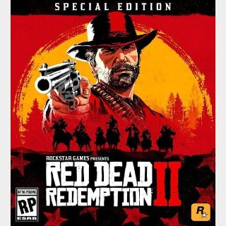 Red Dead Redemption 2: Special Edition Rockstar Games Launcher key