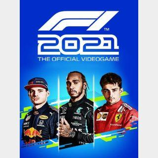 F1 2021 Steam Key (Sent as a gift)