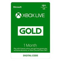 XBOX LIVE GOLD one MONTH