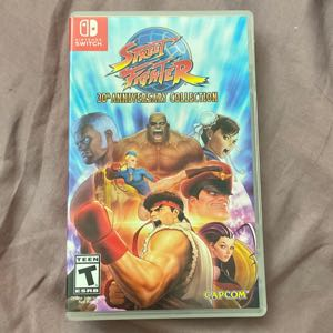 Nintendo Switch/Lite Street Fighter 30th Anniversary Collection