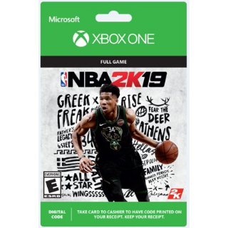 NBA 2k19 XBOX One/ Digital/Instant delivery