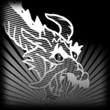 *Blueprint* Dragon Lord - Grey