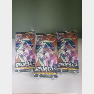 Pokemon Alter Genesis Booster Packs [Korean] x3