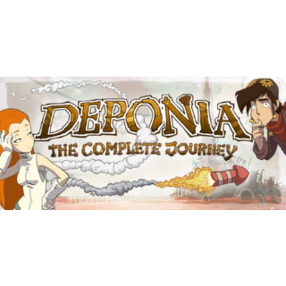 Deponia: The Complete Journey STEAM DIGITAL KEY