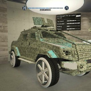 Vehicle | Modded Insurgent