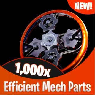 Efficient Mechanical Parts | 12 000x