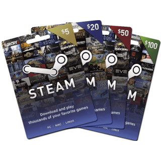 100$ Steam Wallet [ instant delivery ]