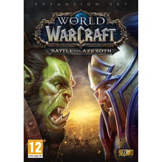 World of Warcraft: Battle for Azeroth Battle.net Key EU