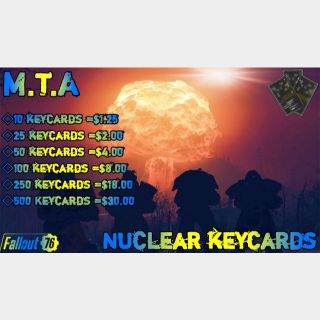 Other   🟠MTA Nuclear Keycards
