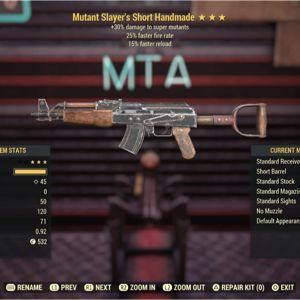 Weapon   M-Slayer  25/FR Handmade