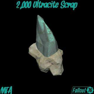 Junk | 2,000 Ultracite Scrap