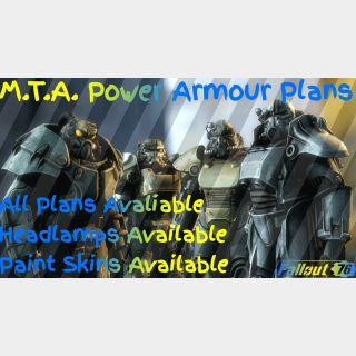 Plan   🟡MTA Power Armour Plans