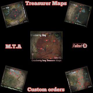 Other    🟢Treasure Map Bundles