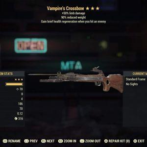 Weapon | V Limb 90rw Crossbow