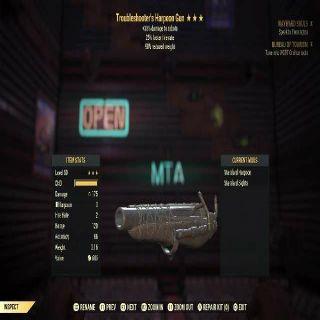 Weapon | Tshooters 25/90 Harpoon