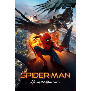 Spider-Man: Homecoming 4K Movies Anywhere