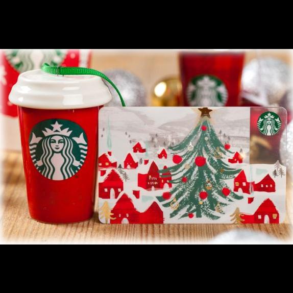 $25.00 Starbucks E-Giftcard