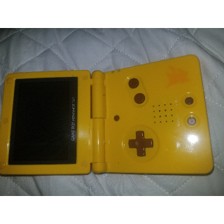 Gameboy Andvanced SP Pikachu Edition