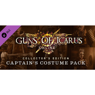 Guns of Icarus Alliance Costume Pack -Instant Delivery-