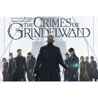 Fantastic Beasts: The Crimes of Grindelwald (VUDU HDX, Movies Anywhere) Digital Code Only!
