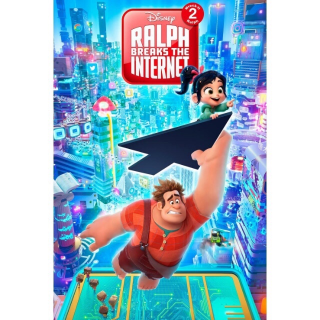 Ralph Breaks the Internet 4K  FULL CODE!!! (DMA + 200 DMR POINTS) TRANSFERS TO ALL LINKED ACCOUNTS