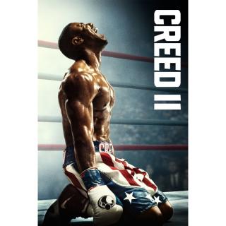 Creed II (VUDU HDX) WATCH NOW!!! Digital Code Only!!!